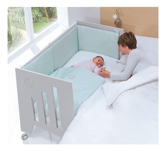 Lettino fianco letto OMNI di Alondra per bimbi da 0 a 1 anno