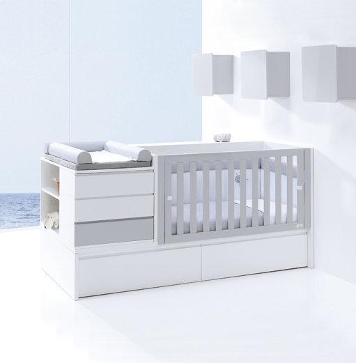 Konver neo modular alondrababy for Lettino trasformabile usato